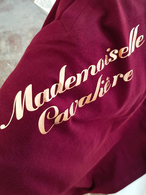 Tee-shirt Bordeaux gold link rosé
