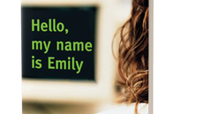 "An excerpt from ""Hello, my name is Emily"""