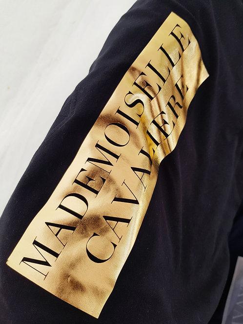 Tee-shirt Mademoiselle gold link
