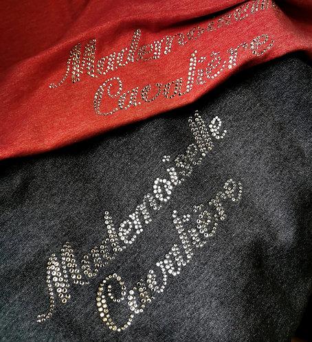 Tee-shirt strass Mademoiselle Cavalière 1