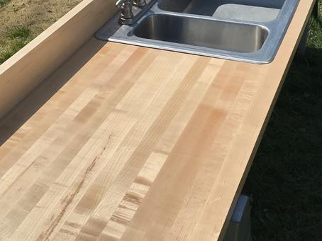 Custom Butcher Block Countertops, The New Granite