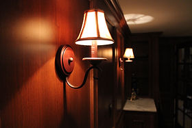 Image of Wood Paneling on the walls of a custom Billiard Room built by St Louis Renovators