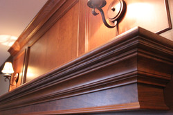 Intricate Mantelpiece woodwork