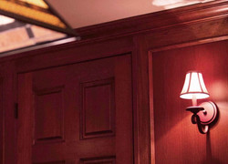 Detailed Wall Paneling