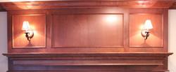 Cherry Wood Mantelpiece