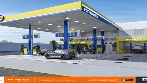 posto decombustivel bandeira branca Sao Gabriel do Oeste MS