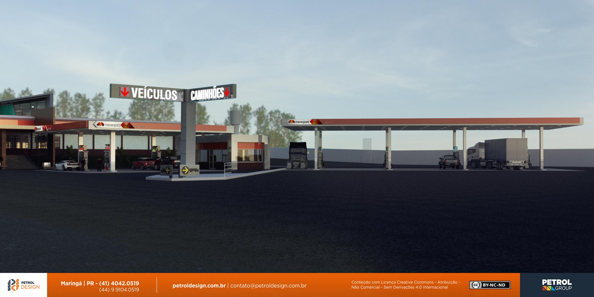 renovar aidentidade visual posto de gasolina Valparaíso de Goiás GO