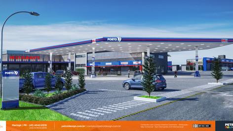 Ampliação de Cobertura de Posto de Gasolina em Taboão da Serra - SP
