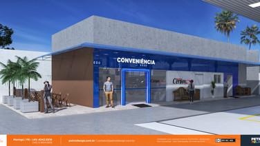 imagem loja de conveniencia posto Cernov II