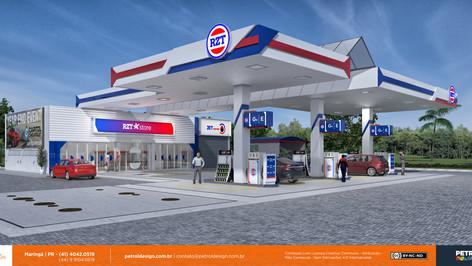 Reforma de posto de combustivel em Pomerode - SC
