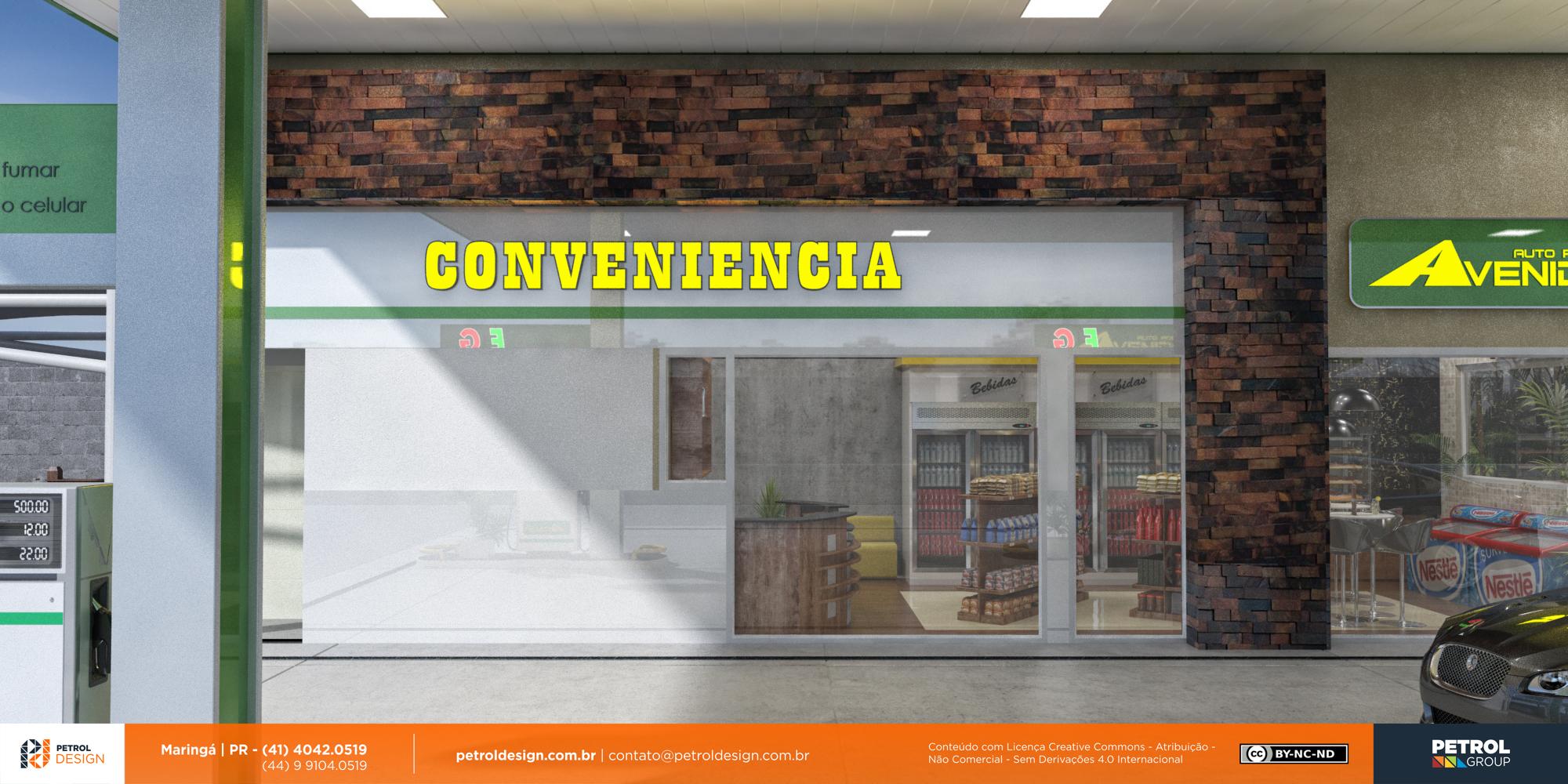 identidade visuale logomarca posto de gasolina Assis SP