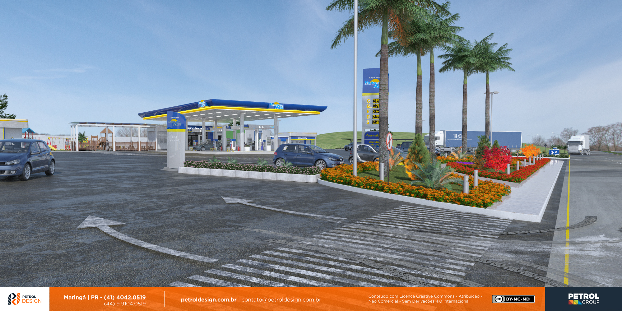 design postode gasolina Nova Venecia ES