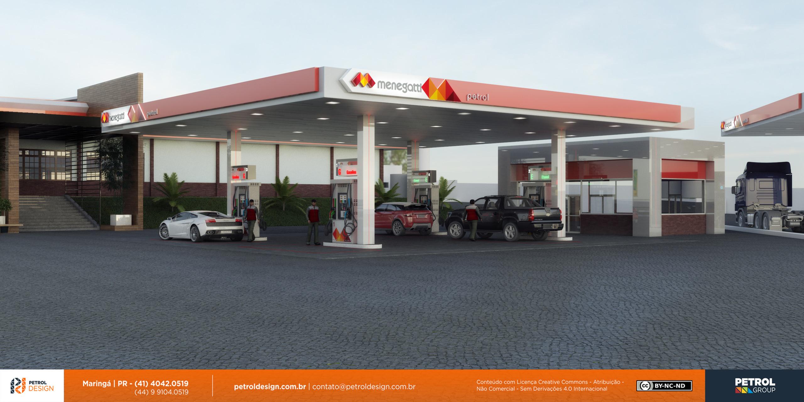 renovar aidentidade visual posto de combustivel Trindade GO
