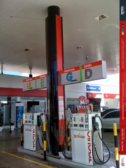 imagens de posto de gasolina