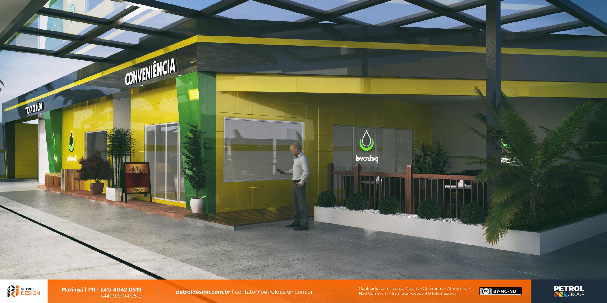 comunicação visual design posto de combustivel Sete Lagoas MG