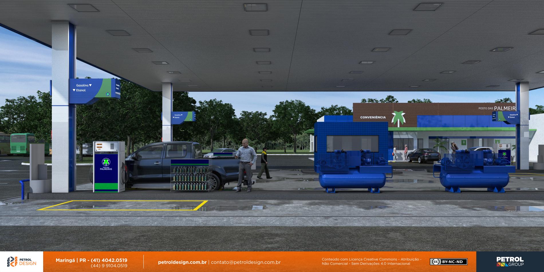 projeto de posto gasolina Goanesia GO