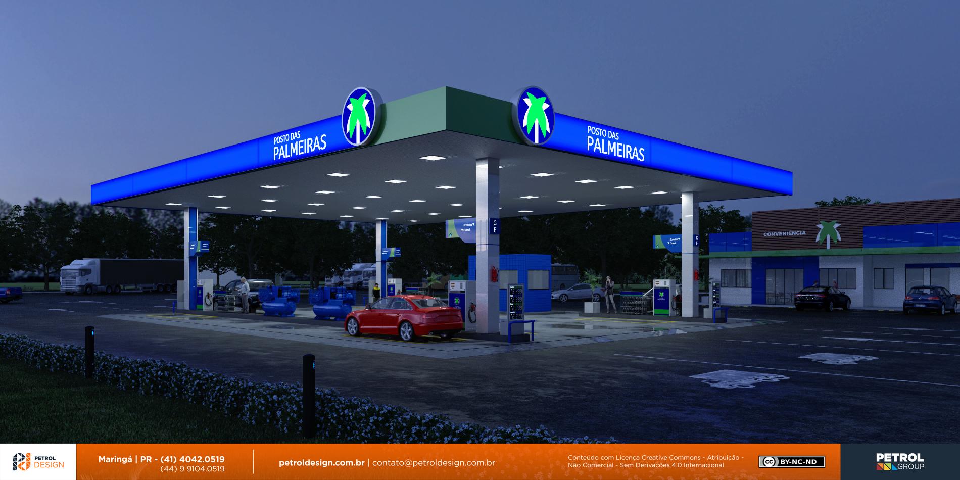 projeto posto de combustivel Orizona GO