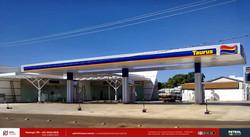 Posto de gasolina bandeira Taurus