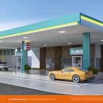 3d posto gasolina Conquista do Oeste MT