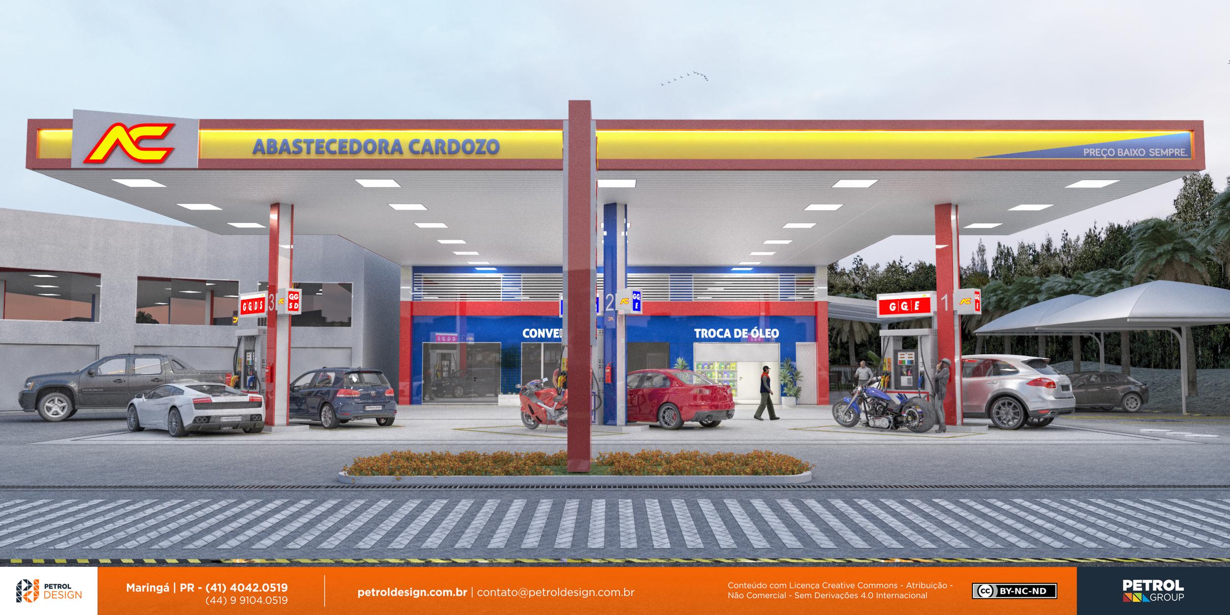 agencia de comunicação visual posto de gasolina Canoas - RS