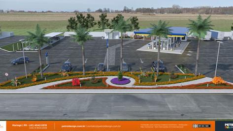 designgrafico posto de gasolina Jaguare ES
