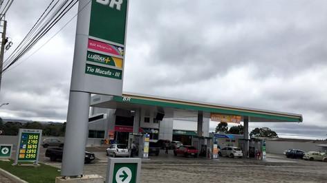 testeira postode gasolina Vila Velha ES