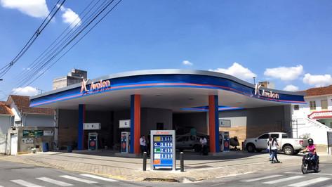 testeira posto de gasolina Belford Roxo RJ
