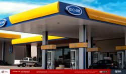 Testeira posto de gasolina BICHIM