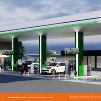 Identidade Visual Posto de Gasolina em Foz do Iguaçu - PR