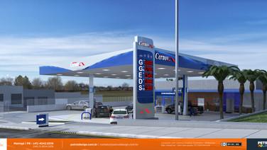 imagem posto de combustivel - Cernov II