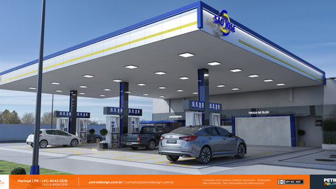 imagens de posto de combustivel em desenho Cachoeira do Sul RS