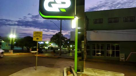 imagem de um posto de gasolina Campo Grande MS