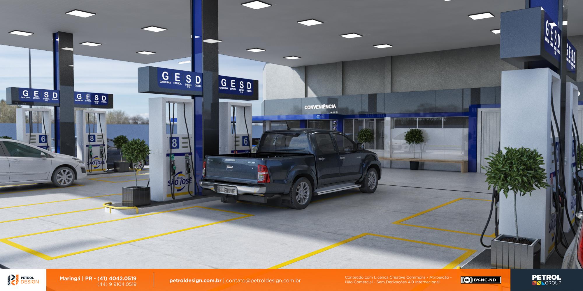 imagens de posto de gasolina Sao Pedro do Sul RS