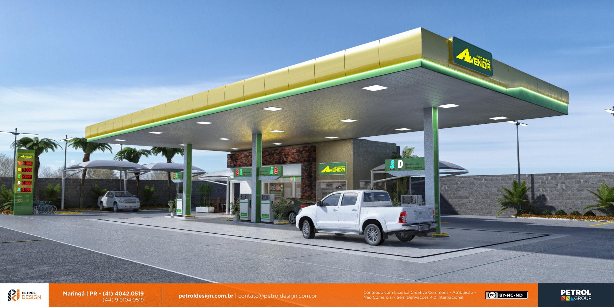 logo marcas posto de gasolina Marilia SP