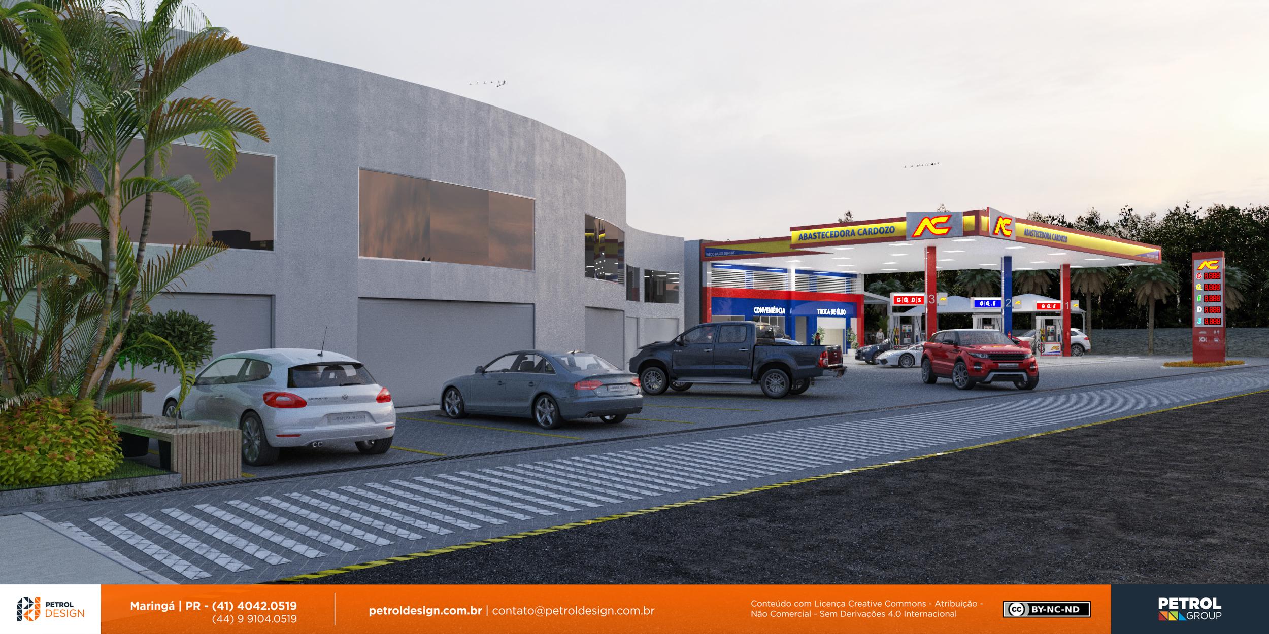 comunicação visual design posto de gasolina Gravataí - RS