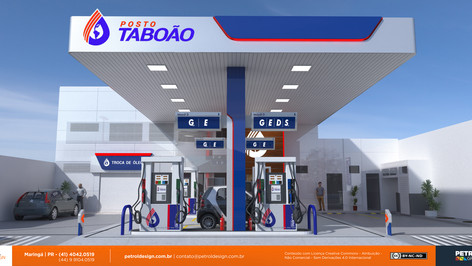 testeira posto combustivel Prado BA