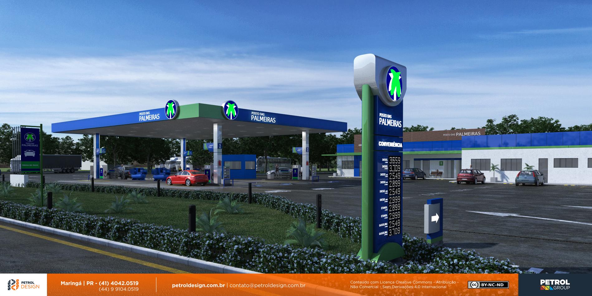 projeto para montar um posto de combustivel Goias GO