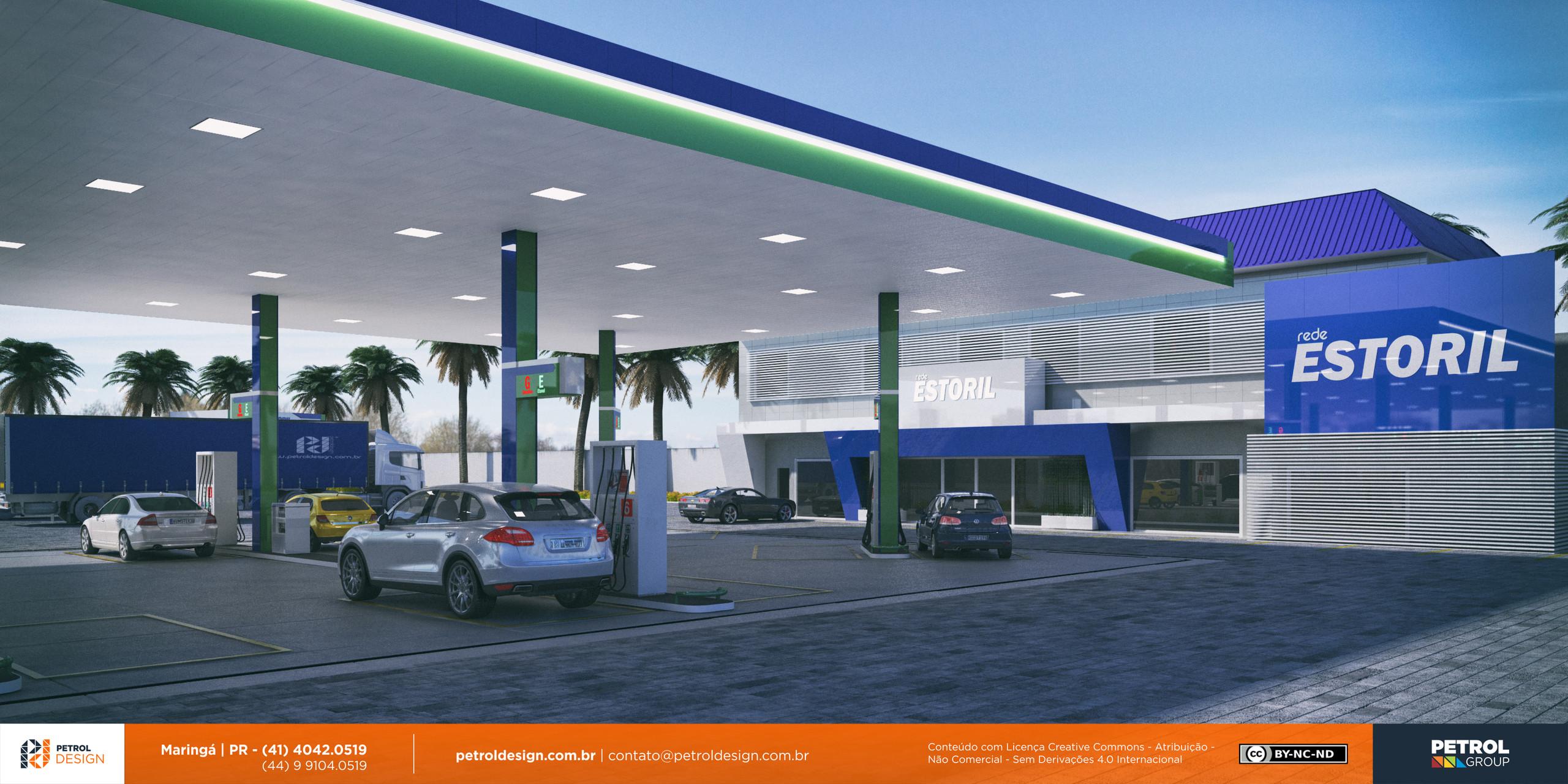 reforma de posto de gasolina sp Miranda MS