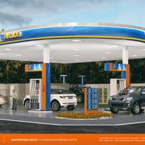 manual de identidade visual posto de gasolina Divinopolis MG