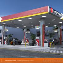 identidade visual empresa posto de gasolina Primavera do Leste MT
