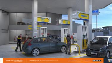 imagem de postos de gasolina ecoeficientes Marilia SP