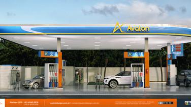 logotipos de postos de gasolina Santa Luzia MG