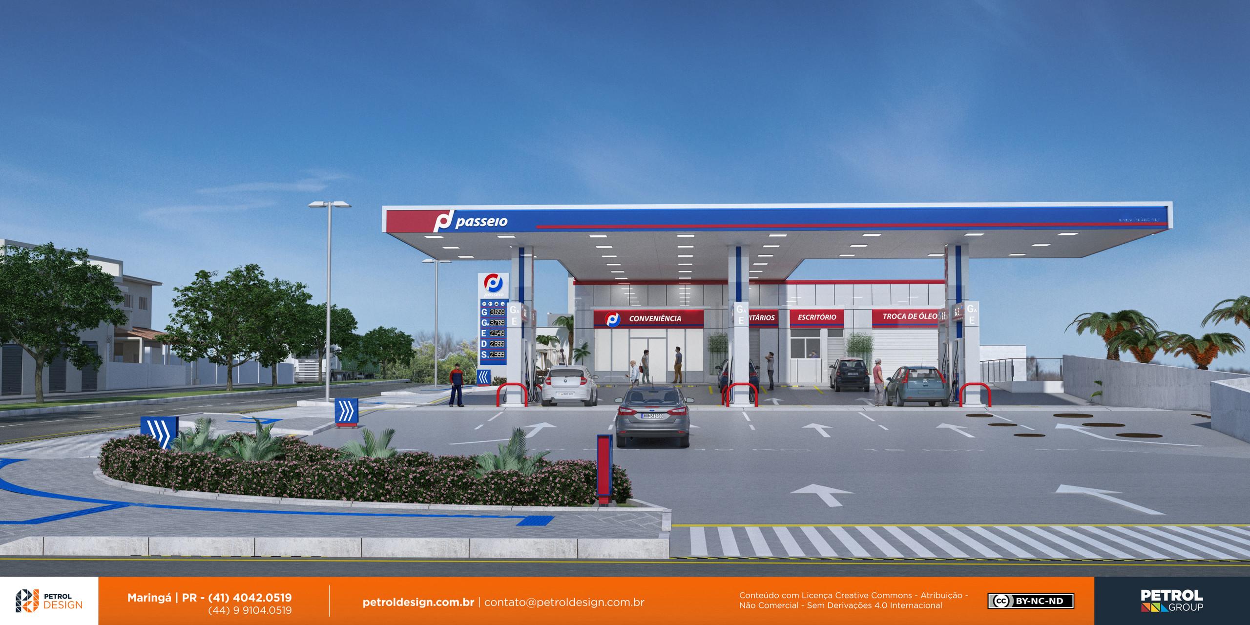 logo marcas 3d posto de combustivel Porto Uniao PR
