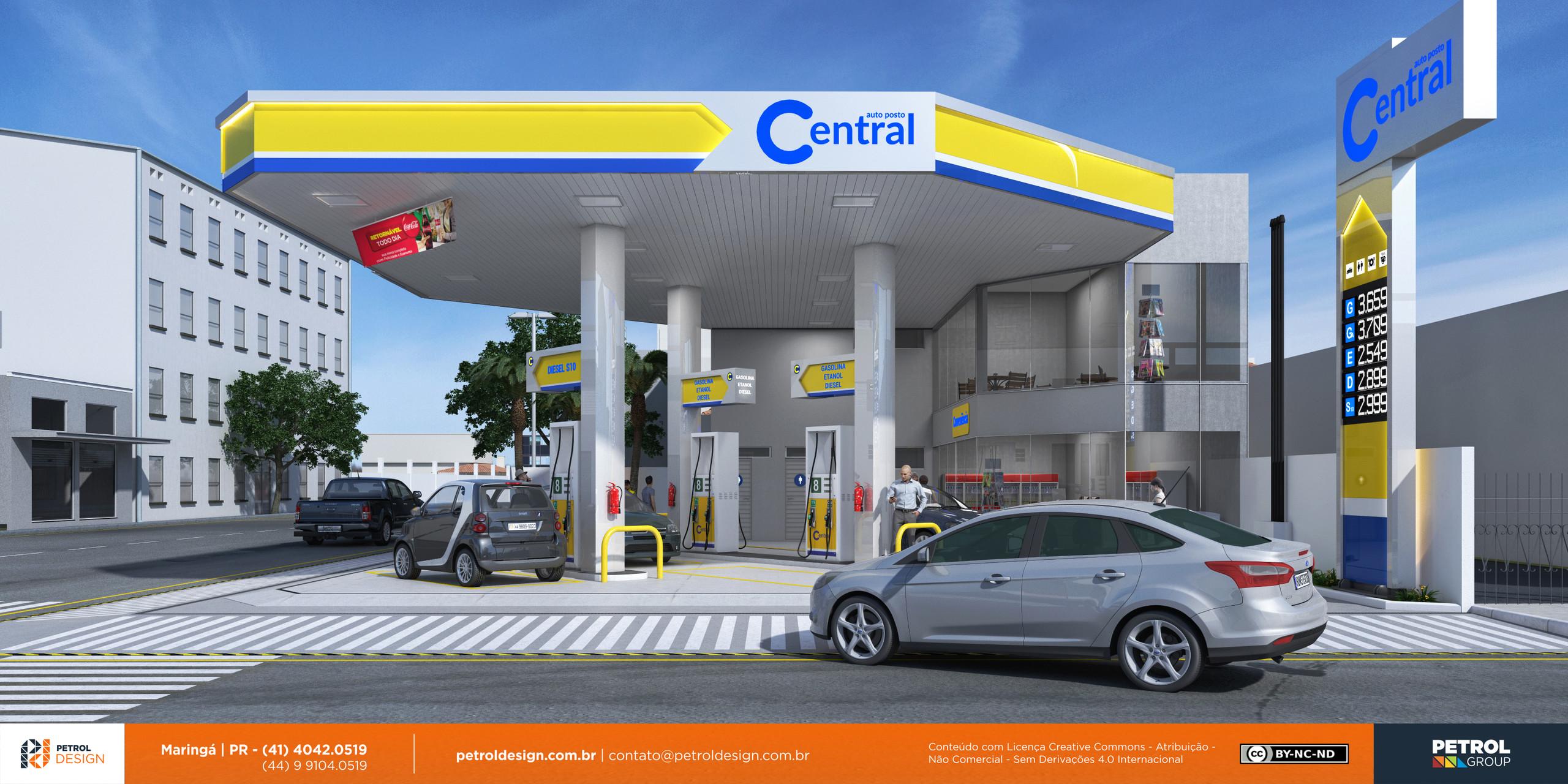 imagem de postos de gasolina Dracena SP