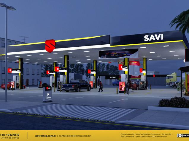 Arquitetura para postos de combustivel