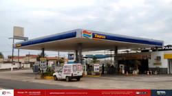 testeira para posto de gasolina