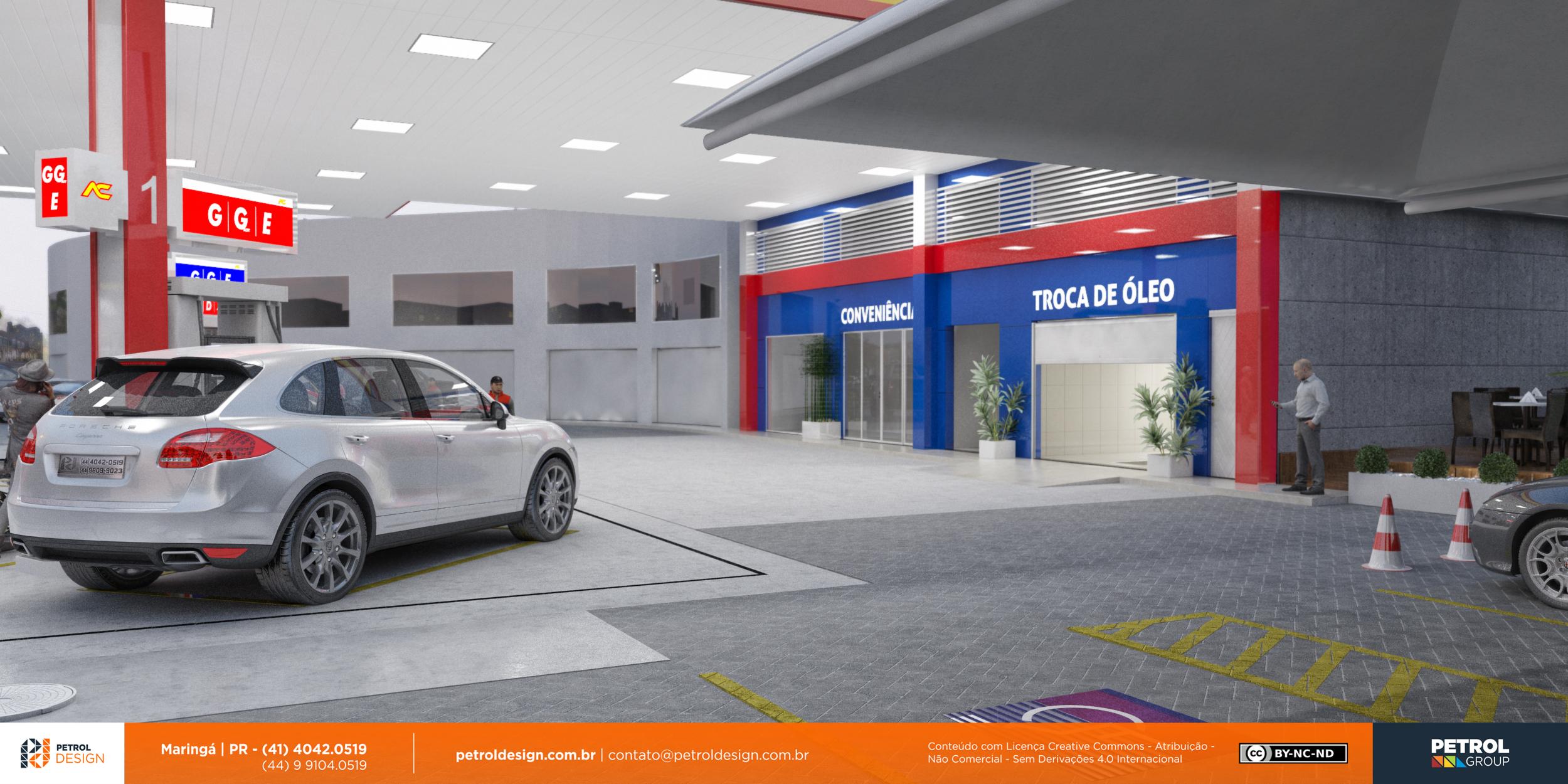 design comunicação visual posto de gasolina Novo Hamburgo - RS