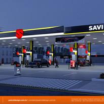 Projeto de identidade visual de posto de gasolina em Cuiaba - MS