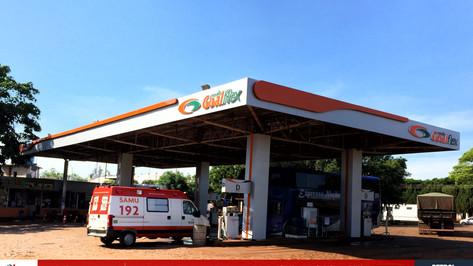visual posto de gasolina Mauá SP