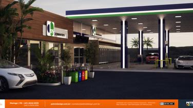 design projeto visual posto de combustivel Piraquara PR